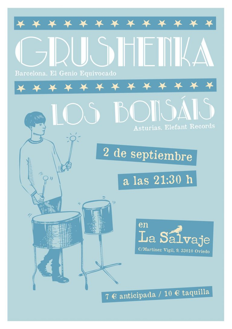 GRUSHENKA + LOS BONSAIS